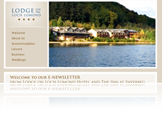 Lodge on the Loch Newsletter